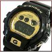 CASIO / G-SHOCK カシオ / Gショック NEW6900シリーズ メンズ腕時計 ブラック/ゴールド 国内正規品 GD-X6900FB-1JF