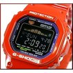 CASIO/G-SHOCK カシオ / Gショック G-LIDE/Gライド ソーラー電波腕時計 レッド(国内正規品)GWX-5600C-4JF