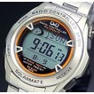 CITIZEN/Q&Q シチズン/キューアンドキュー メンズ ソーラー電波腕時計 メタルベルト MHS7-200 国内正規品