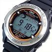 CITIZEN/Q&Q シチズン/キューアンドキュー メンズ ソーラー電波腕時計 ブラックラバーベルト MHS7-300 国内正規品