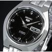 SEIKO/SEIKO5セイコー5/セイコーファイブ自動巻 メンズ腕時計 メタルベルト ブラック文字盤 海外モデル SNKL71K1