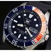 SEIKO5 Sports セイコー5スポーツ ファイブスポーツ 自動巻 メンズ腕時計 ブラックラバーベルト ネイビー文字盤 MADE IN JAPAN 海外モデル SNZF15J2