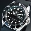 SEIKO5 Sports セイコー5スポーツ ファイブスポーツ 自動巻 メンズ腕時計 ブラックラバーベルト ブラック文字盤 MADE IN JAPAN 海外モデル SNZF17J2