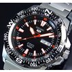 SEIKO/Sports セイコー5スポーツ/ファイブスポーツ 自動巻 メンズ腕時計 MADE IN JAPAN ブラックベゼル メタル ブラック文字盤 SRP541J1 海外モデル