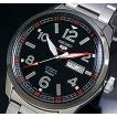 SEIKO / SEIKO5Sports セイコー5スポーツ / ファイブスポーツ 自動巻 メンズ腕時計 メタルベルト ブラック文字盤 MADE IN JAPAN 海外モデル SRP629J1
