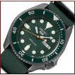 【外箱訳あり】SEIKO SEIKO5Sports セイコー5スポーツ ファイブスポーツ 自動巻 メンズ腕時計 グリーンナイロンべルト グリーン文字盤 海外モデル SRPD77K1