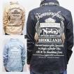 ノートン Nortonフェイクスウェードボリュームネックシャツ 193N1501/バイカー ロッカーズ アメカジ きれい目