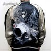 SATORI さとり狼スカジャン GSJR-006/和柄 和