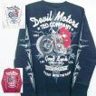 テッドマン TEDMAN ロンT 長袖Tシャツ TDLS-316 DEVIL MOTORS アメカジ バイカー ピンスト