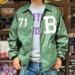 New Color! コーチジャケット BUDDY オリジナル B-71 ダークグリーン ウィンドブレーカー 防寒 ナイロンジャケット メンズ レディース ユニセックス アメカジ