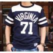RUSSELL ATHLETIC PRO COTTON フットボールTシャツ #71 ネイビー×ホワイト ラッセル アスレチック アメカジ