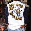 モトクロス 七分袖 ベースボールシャツ BUDDY オリジナル SPRINGFORD BY71 MOTOCROSS  アメカジ メンズ バイク