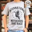 Champion 別注 チャンピオン アメリカ製 オックスフォードグレー Tシャツ T1011 MADE IN U.S.A. Tシャツ INTERNATIONAL MOTOCROSS ティーテンイレブン アメカジ