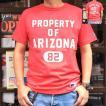 ラッセル アスレチック BUDDY 別注 RUSSELL ATHLETIC Tシャツ PROPERTY OF ARIZONA オールドレッド アメカジ アリゾナ 82 T-sh メンズ 半袖