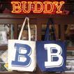 BUDDY オリジナル キャンバストートバッグ  B/ アメカジ エコバッグ