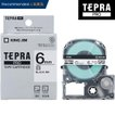 キングジム「テプラ」PRO用 テプラテープ「SS6K」白ラベル 黒文字 幅6mm 長さ8m KING JIM TEPRA