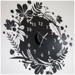 ウォールステッカー 壁掛け時計 掛時計 おしゃれ ポップ 北欧 カフェ/111 Nature's Crest