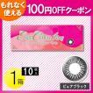 エバーカラーワンデー ピュアブラック 10枚入1箱 /メール便 /100円OFF