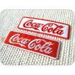 刺繍ワッペン/CocaCola角型B(L).全2色/コカ・コーラ/USA/メール便送料無料/アイロン/アップリケ/CaJu+NiC[カジュニック]