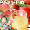 青森 りんごジュース 160万本突破 100% ストレート果汁 1000ml×6本 【林檎園6本】年間16万本完売 同商品3箱まで同梱可  リンゴ ジュース 葉とらずりんご 使用