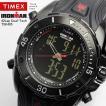 エントリーでP6倍 TIMEX タイメックス IRONMAN アイアンマン 腕時計 メンズ アナデジ 100M防水 ラバー トライアスロン 42ラップ デュアルテック T5K405