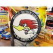 クレイスミスのレーシングワッペン(ラウンド・ホワイト) アメリカ雑貨 アメリカン雑貨 おしゃれ アイロン ブランド アメリカ ロゴ キャラクター 通販