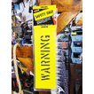 アメリカのホームセンターで売ってるステンシルシート(警告/WARNIG) アメリカ雑貨 アメリカン雑貨 アメリカ 輸入 人気 DIY