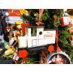 コカ・コーラブランド クリスマスオーナメント(デリバリートラック/ウッド製) アメリカン雑貨