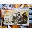 クラシックカー&バイクのブリキポスター(イージーライダー/ハーレー) アメリカン雑貨 サインプレート 通販 インテリア 壁飾り 人気