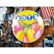 DOTSのバブルクロック アメリカ雑貨 アメリカン雑貨壁掛け時計 インテリアおしゃれな部屋 人気