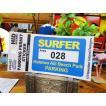 サーファーパーキングパーミット・ステッカー(ハレイワビーチ) アメリカ雑貨 アメリカン雑貨