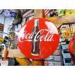 コカ・コーラブランド 3Dボタンサイン アメリカ雑貨 アメリカン雑貨