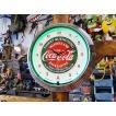 【全国送料無料】【即納】【在庫あり】コカ・コーラのネオンクロック(サーストクエンチング) ■ アメリカ雑貨 アメリカン雑貨 coke