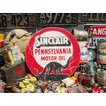 アメリカンガレージのウッドサイン(シンクレア) アメリカ雑貨 アメリカン雑貨 壁掛け インテリア おしゃれな部屋 人気