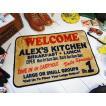 アメリカンインテリアマット(アレックスキッチン) アメリカ雑貨 アメリカン雑貨 おしゃれ 玄関マット 屋内 人気