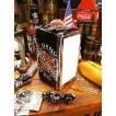 ハーレーダビッドソン ナプキンディスペンサー(ハーレーオイル缶) アメリカ雑貨 アメリカン雑貨 アメリカ 輸入 インテリア グッズ 雑貨 人気