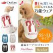 犬 服 Tシャツ 適温 アウトラスト 通年 温度調整 犬の服 SS S M L LL きゃんナナ ドッグウェア ブランド