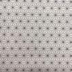 鬼滅の刃風 プリント カット用 大正レトロ  麻の葉柄生地 ピンク  N105