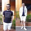 Tシャツ ロゴTシャツ メンズ クルーネック ボックスロゴプリントTシャツ