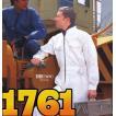人気の白! オートバイ印長袖つなぎ 1761 S〜3L 【山田辰・AUTO-BI・長袖・ツナギ】
