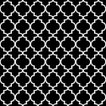 Ambiente オランダ ペーパーナプキン モロッカン柄 Ogee Black 13309718 バラ売り2枚1セット デコパージュ ドリパージュ