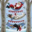 Ambiente オランダ ペーパーナプキン Relaxing Christmas 33305065 バラ売り2枚1セット デコパージュ ドリパージュ