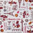 2枚セット リサとガスパール Gaspard et Lisa ペーパーナプキン 紙ナフキン 33x33cm パリのお散歩・ピンク デコパージュ ドリパージュ