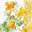 HOME FASHION ドイツ ペーパーナプキン Tulip Art 2枚 211121 デコパージュ ドリパージュ