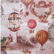 Home Fashion ドイツ ペーパーナプキン Vintage Ballons 211705 バラ売り2枚1セット デコパージュ ドリパージュ