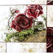 期間限定セール かわいいペーパーナプキン ドイツ製 Frozen Roses 2枚 611208 デコパージュ ドリパージュ