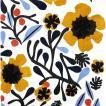 1枚バラ売りペーパーナプキン マリメッコ Marimekko 2019春夏 MYKERO white yellow 33x33cm ランチサイズ 北欧 803797 ドリパージュ デコパージュ