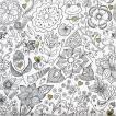 Paper+Design ドイツ ペーパーナプキン Zentangle バラ売り2枚1セット L-200262 デコパージュ ドリパージュ