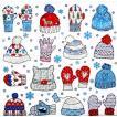 Paper+Design ドイツ ペーパーナプキン 手袋と帽子 Mitten and beanies バラ売り2枚1セット L-600206 デコパージュ ドリパージュ