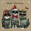 Paper+Design ドイツ ペーパーナプキン ハッピークリスマス 猫 キャット Happy Christmas バラ売り2枚1セット L-600223 デコパージュ ドリパージュ